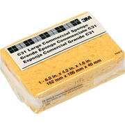 "3M Commercial Cellulose Sponge, Yellow, 4 1/4""(W)x6""(L)x1 5/8""(T)"