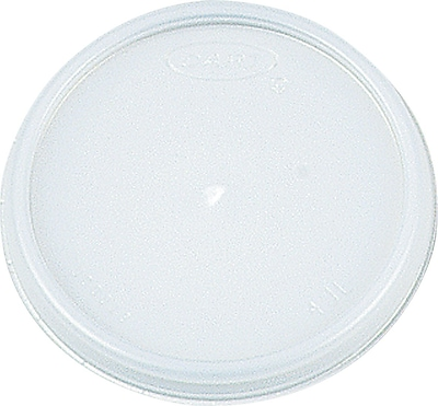 Dart ® Plastic Vented Lid for 8 oz. Hot/Cold Foam Cups, White, 1000/Carton