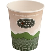 Green Mountain Coffee Roasters® Eco-Friendly Paper Hot Cup, 12 oz., 1000/Carton
