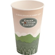 Green Mountain Coffee Roasters® Eco-Friendly Paper Hot Cup, 16 oz., 1000/Carton