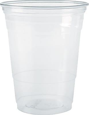 Solo® Plastic Cold Cups, 10 Oz., Clear, 1,000/Ct