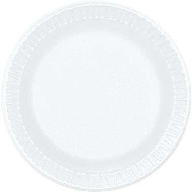 Dart ® Concorde ® Non-Laminated Round Foam Plate, 6