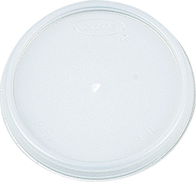 Dart  Plastic Vented Lid for 12 oz. Hot/Cold Foam Cups, White, 1000/Carton 655737