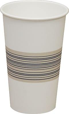 Boardwalk Paper Hot Cup, 16 oz., Blue/Tan, 1000/Carton 150048