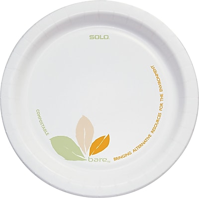 Solo® Bare® Eco-Forward® Perfect Pak® Paper Medium-Weight Plates 6
