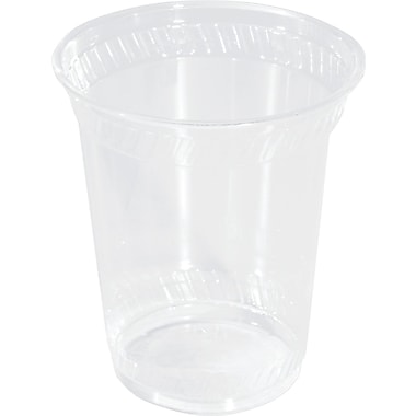 NatureHouse® Corn Plastic Cold Cup, 12 oz., Clear, 50/Pack