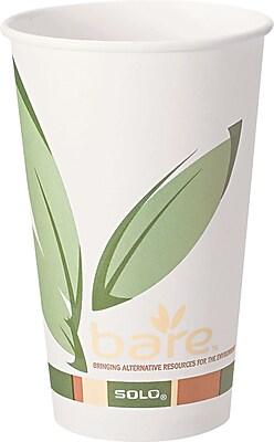 Solo Paper Hot Cups, 20 Oz., Design, 600/Ct 845637