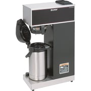 bunn pourover airpot 1 burner coffee brewer with black accents 38 gal - Bunn Coffee