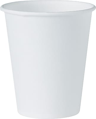 Solo  Paper Water Cup, 4 oz., White, 100/Pack 599094