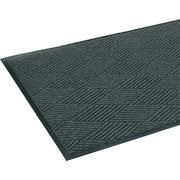 """Crown Super-Soaker™ Polypropylene Diamond Wiper/Scraper Mat, 69""""L x 45""""W, Slate"""