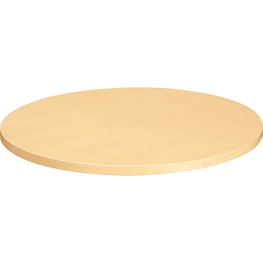 Hon Hospitality Round Table Top 36inch Natural Maple Next2017