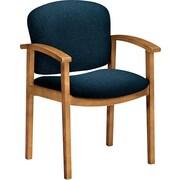 HON® Invitation® Fabric Guest Chair, Blue/Harvest (HON2111CAB90)
