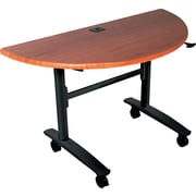 Balt Lumina 48'' Semi-Circle Table Top, Cherry (89999)