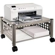 """Vertiflex™ 11 1/2""""H x 21 1/2""""W x 17 7/8""""D Underdesk Machine Stand, Matte Gray"""