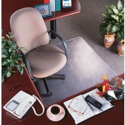 "deflect-o® RollaMat™ Chair Mat For Medium Pile Carpeting, Clear, 48""L x 36""W"
