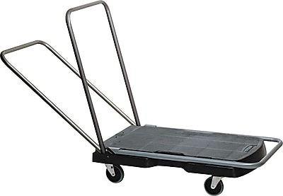Rubbermaid® Commercial Utility-Duty HDPE Home/Office Cart, 250 lbs.