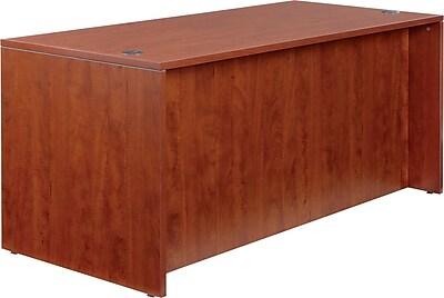 Alera® Valencia Woodgrain Laminate Straight Front Desk Shell, 29 1/2