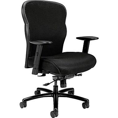 basyx® by Hon VL705 Big And Tall Mesh Fabric Chair, Black