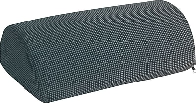 Safco® Remedease® Half-Cylinder Padded Foot Cushion, Black, 11 1/2