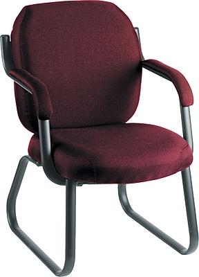 Global Commerce Steel Guest Chair, Rhapsody Burgundy (4735-PB07)