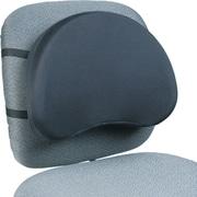 Kantek LS400 Polyester Back Support, Black