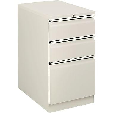 HON Flagship 3 Drawer Mobile/Pedestal File, Gray,Letter, 15''W (H18723RLQ)