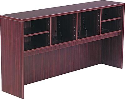 Alera® Valencia Laminate Open Storage Hutch, 35 1/2