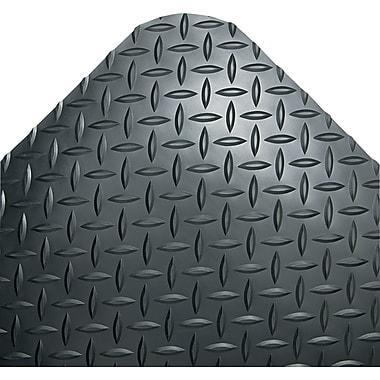 Crown Vinyl Industrial Deck Plate Anti-Fatigue Mat, 144