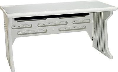 Iceberg Aspira™ High-Density Polyethylene Base Modular Workstation Desk, 30