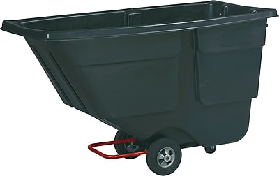Rubbermaid ® Commercial Rotomolded Plastic Tilt Truck, 600 lbs.