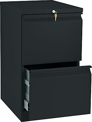 HON Brigade™ Series Vertical Mobile File Cabinet with