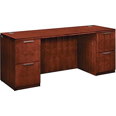 HON® Arrive™ Wood Veneer Base Kneespace Credenza, 29 1/2