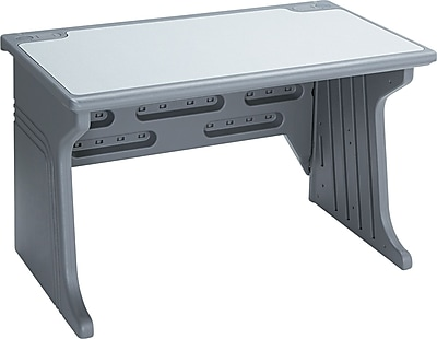 Iceberg Aspira™ High-Density Polyethylene Base Modular Workstation Desk, 30
