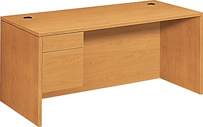 HON® 10500 Series Left Pedestal Desk 66