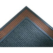 "Crown Super-Soaker™ Polypropylene Wiper/Scraper Mat, 119""L x 34""W, Dark Brown"