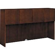 "HON® Arrive Wood Veneer Stack-On Storage, 42""H x 71 7/8""W x 15 7/8""D, Shaker Cherry"