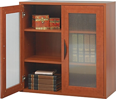 Safco Apres Laminated Compressed Wood Two-Door Cabinet, 29 3/4
