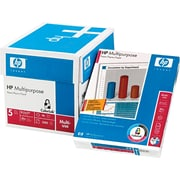"HP Multipurpose Paper, White, 8 1/2""(W) x 11""(L), 2500/Ctn"