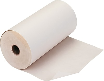 PM Company ® Impact Bond Teleprinter Paper Roll, White, 8 7/16