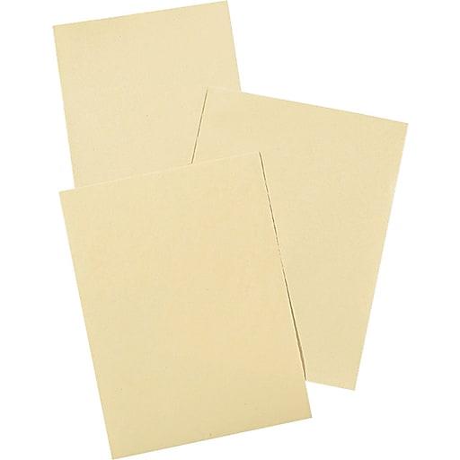 "Pacon ® Drawing Paper, Cream Manila, 9""(W) x 12""(L), 500/Pack"