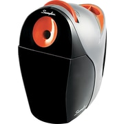 Swingline ® Optima Desktop Electric Pencil And Crayon Sharpener, Gray/Orange
