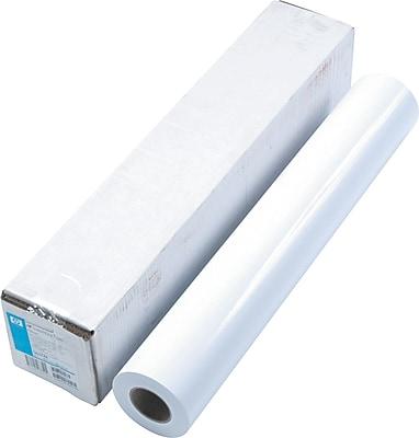 HP Designjet Large Format Dry Gloss Photo Paper For Inkjet Printers, White, 24