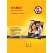 """Kodak Ultra Premium Photo Paper, White, 4""""(W) x 6""""(L), 20/Pack"""