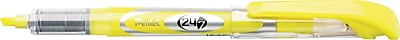 Pentel® 24/7™ Highlighter, Chisel Tip, Bright Yellow