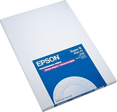 Epson Premium Matte Presentation Paper, Bright White, 13