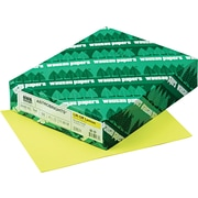 "ASTROBRIGHTS® Color Paper, 8 1/2"" x 11"", 24 lb., Lift-Off Lemon, 500/Ream"