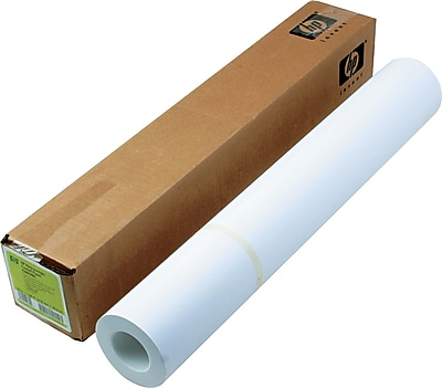 HP Designjet Large Format Paper for Inkjet Printers, Coated, 24