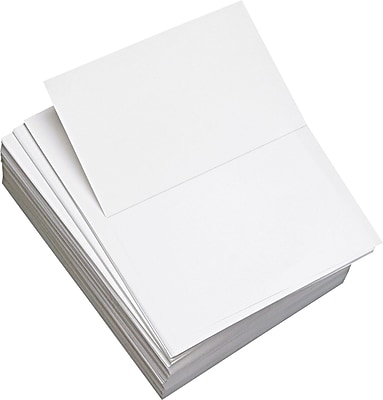 Domtar Custom Cut-Sheet Copy Paper, White, 8 1/2