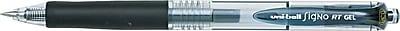 uni-ball® Signo Retractable Gel Pen, 0.5 mm Micro Fine, Black, Dozen