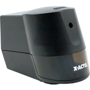 X-ACTO® Home And Office Model 2000 Desktop Electric Pencil And Crayon Sharpener, Black